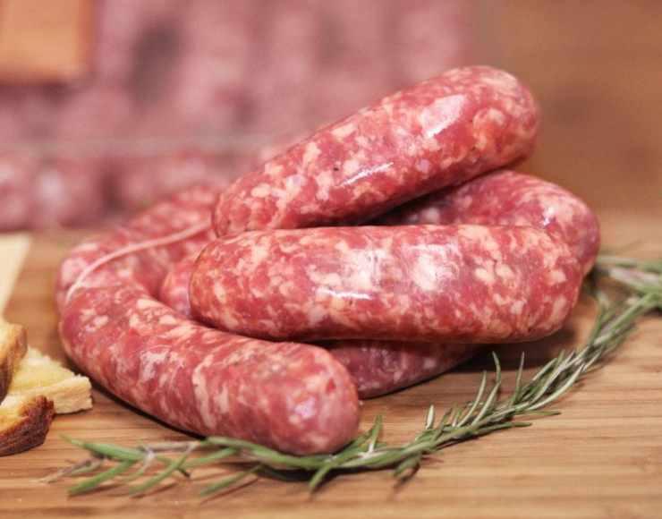 Orecchiette spinaci e salsiccia FOTO ricettasprint