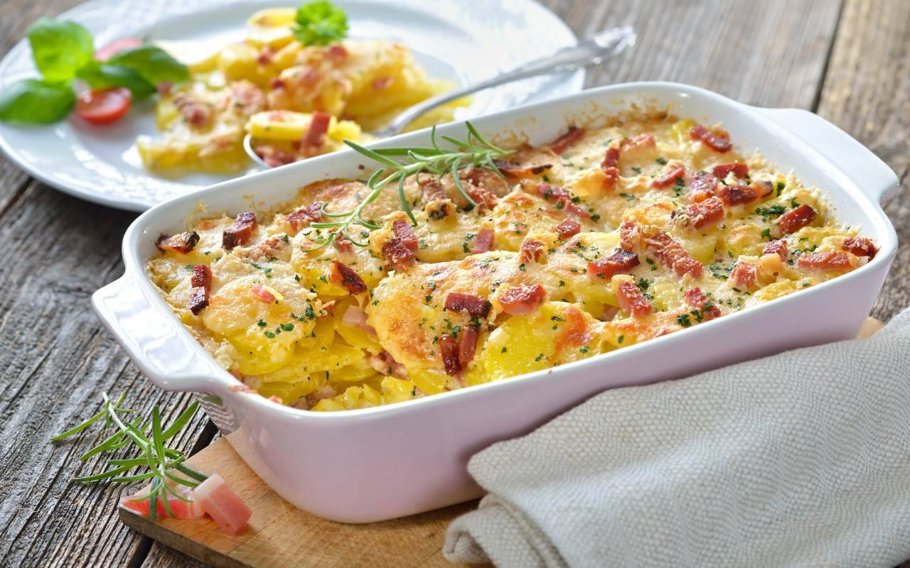 patate panna pancetta ricetta FOTO ricettasprint