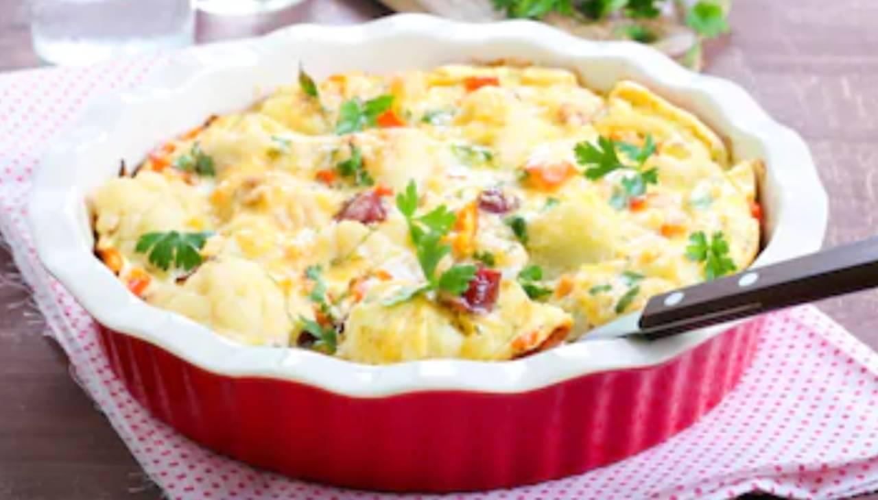 Pure di cavolfiore patate e salsicce ricettasprint