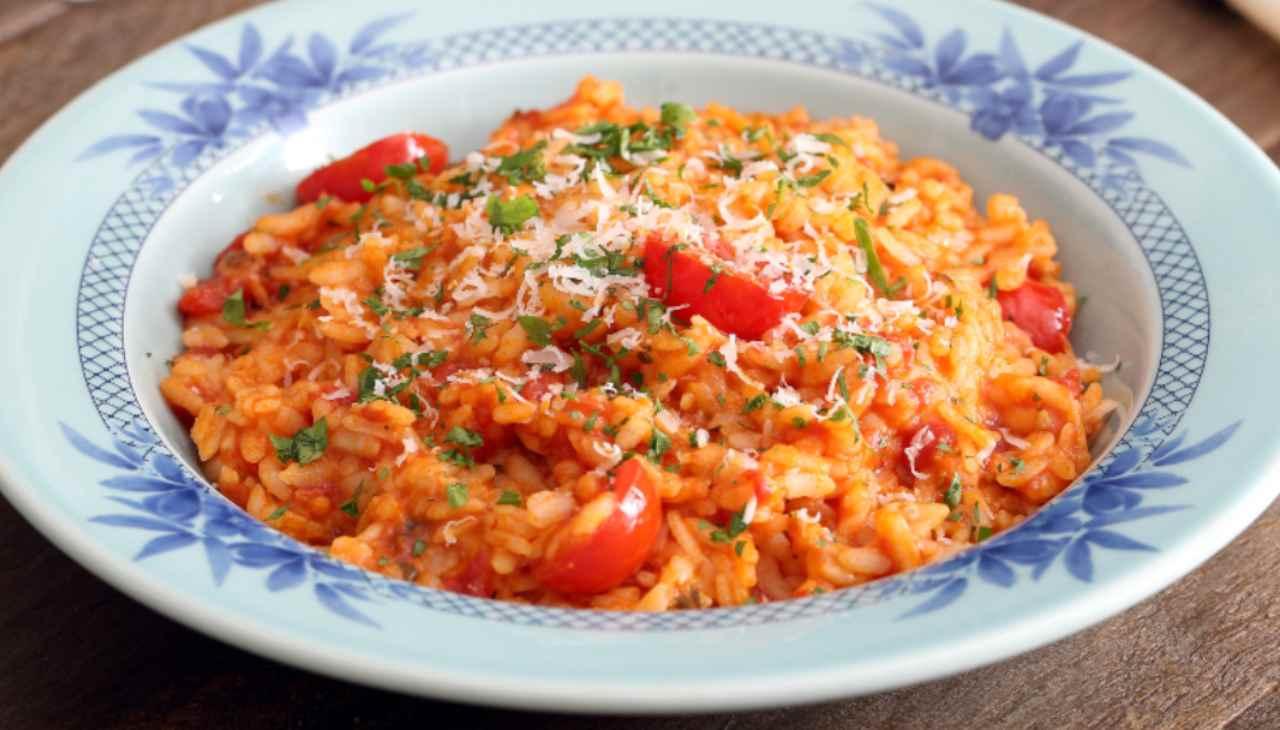 risotto concentrato pomodoro