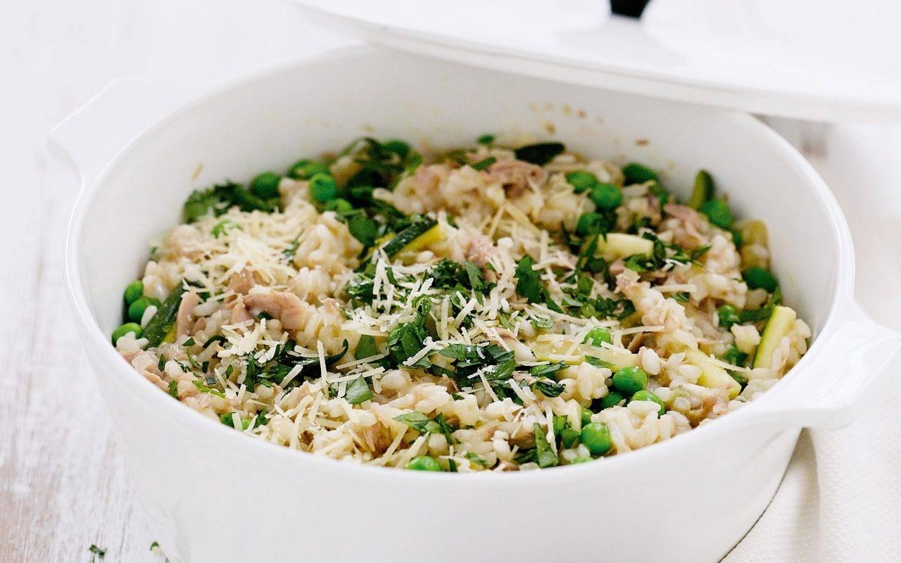 riso con zucchine FOTO ricettasprint
