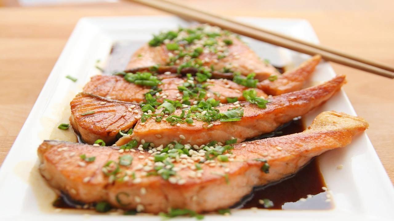 Pesce alla salsa di soia