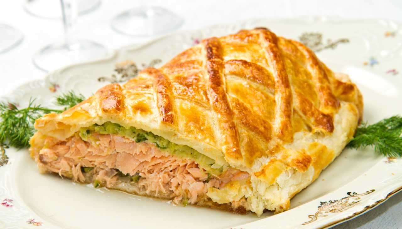 Salmone in crosta ricetta di Natale ricetta