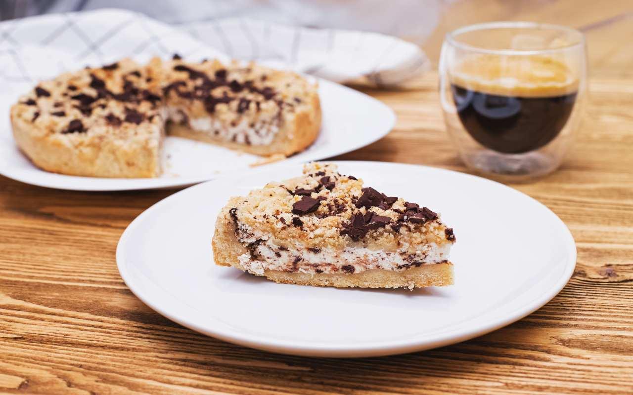 torta caffè cioccolato ricetta FOTO ricettasprint