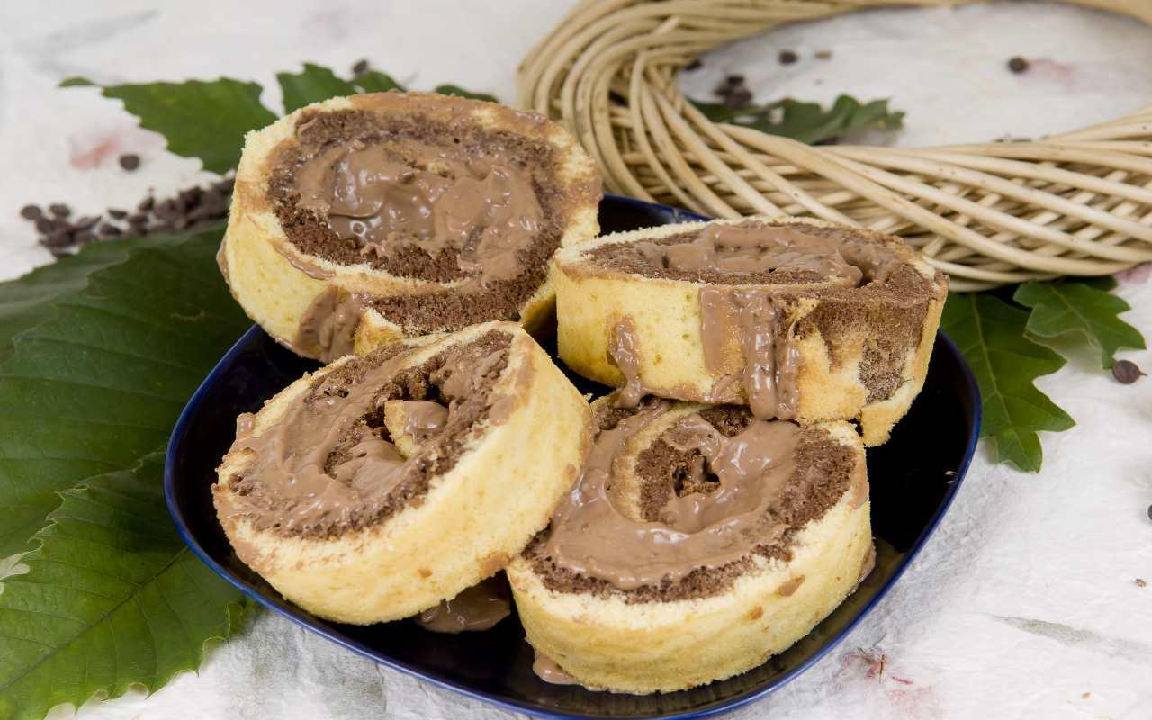 dolce con nutella FOTO ricettasprint
