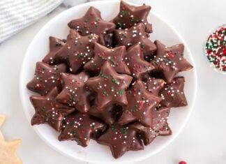stelle cioccolato pan di spagna ricetta FOTO ricettasprint