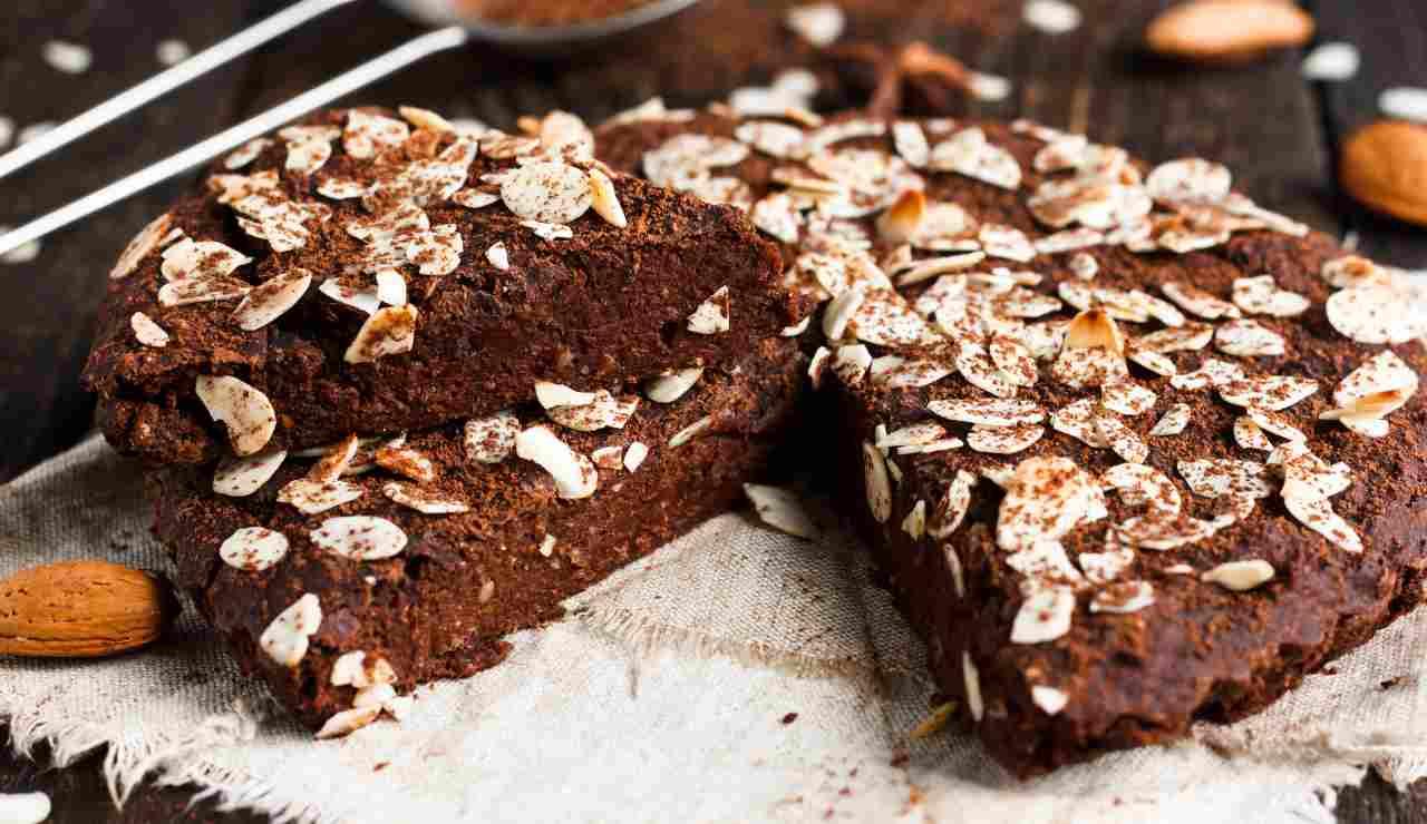 Torta al cioccolato mandorle e cannella ricettasprint