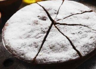 Torta nutella e pasta frolla alle mandorle con cacao ricetta