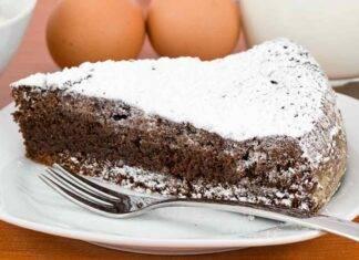 Torta super cioccolatosa con 3 ingredienti ricettasprint