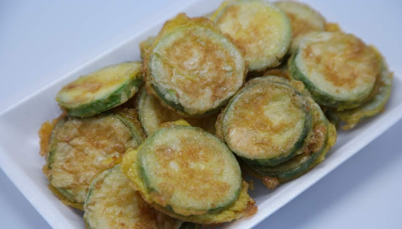 zucchine fritte pastella uova