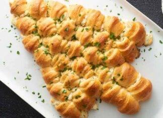 albero di girelle salato con prosciutto e formaggio ricettasprint
