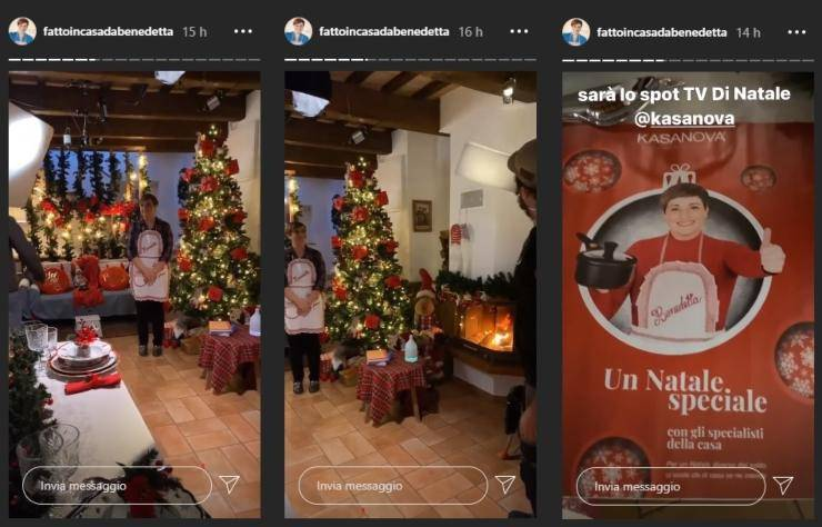 benedetta rossi casa addobbata per Natale ricettasprint