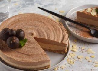 cheesecake al doppio cioccolato e pandoro ricettasprint