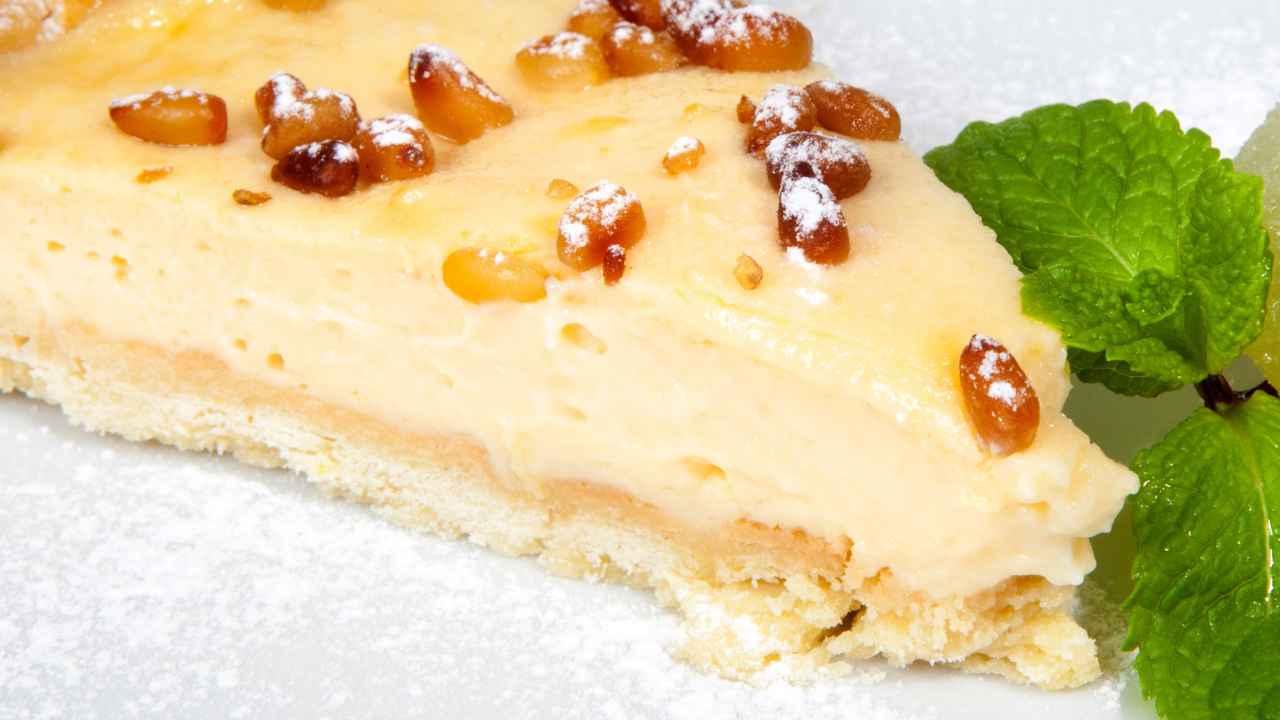 Cheesecake della nonna alla vaniglia