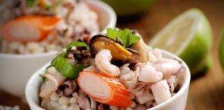 insalata di mare con orzo ricettasprint
