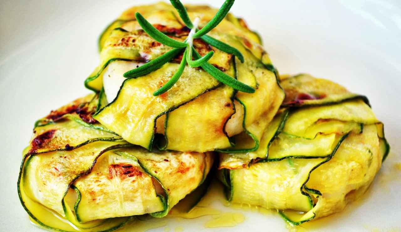 medaglioni di pesce spada alle zucchine ricettasprint