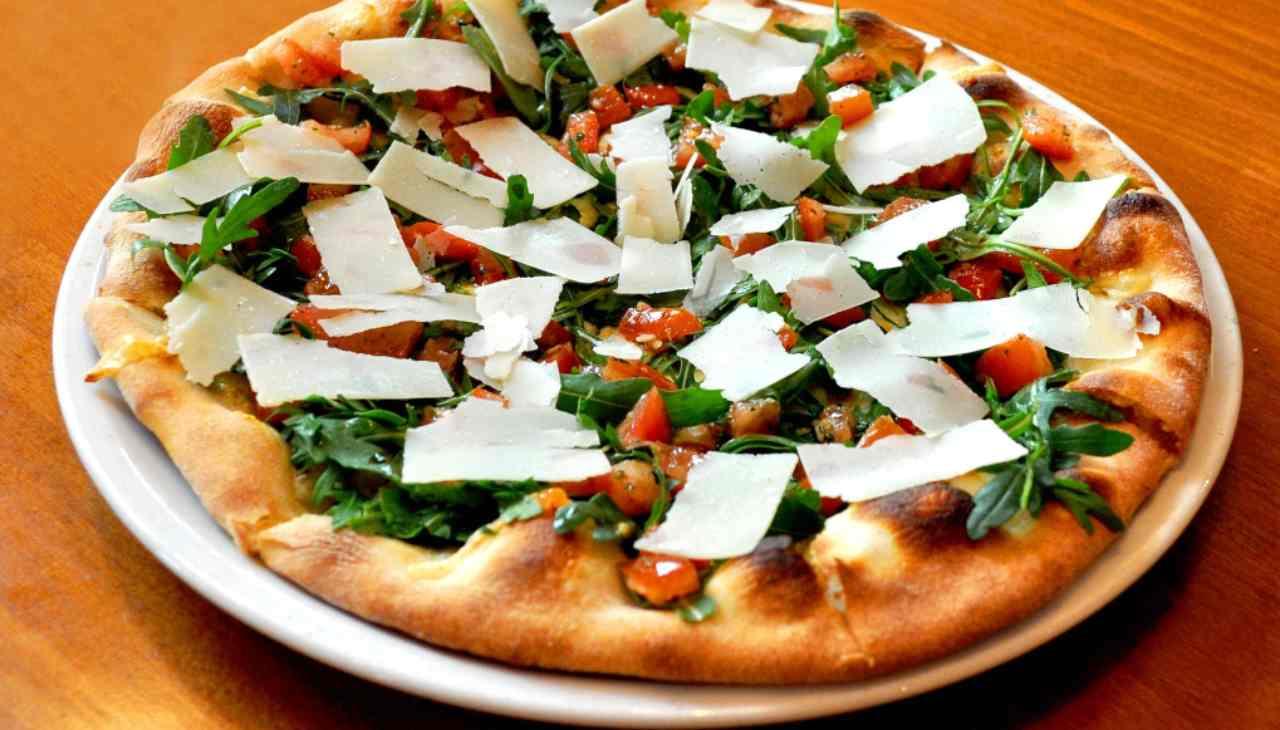 pizza veloce carpaccio breasola
