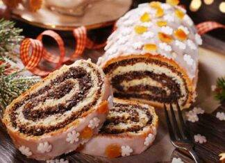 rotolo di pandoro al cioccolato ricettasprint