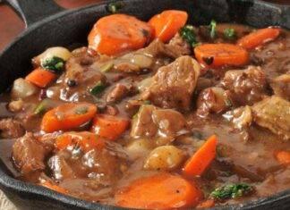 spezzatino cremoso con funghi e carote ricettasprint