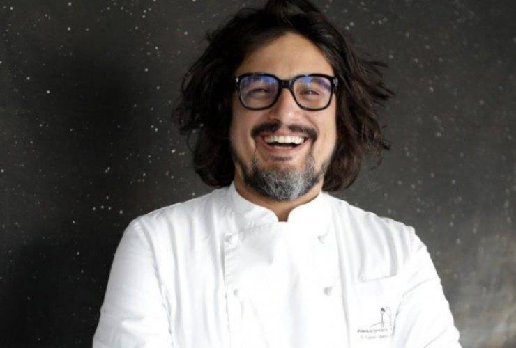 Alessandro Borghese felicità incontenibile - RicettaSprint