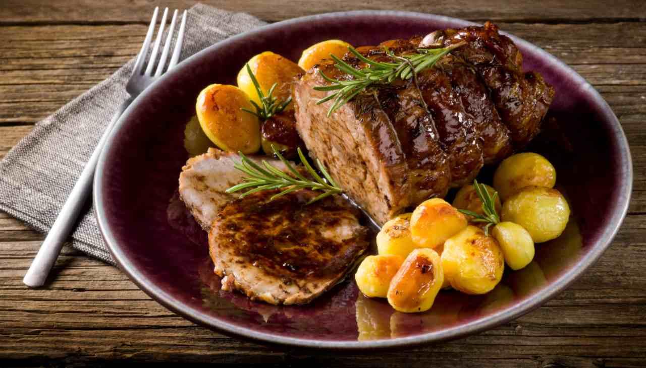 Arrosto di vitello al forno con patate ricetta