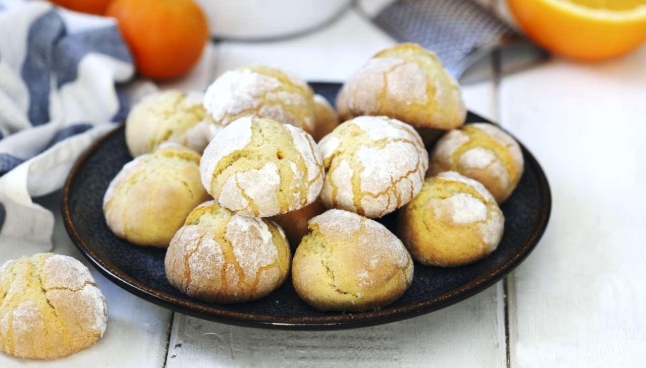 Biscotti alla arancia ricetta