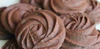 Biscotti di pasta frolla montata alla Nutella
