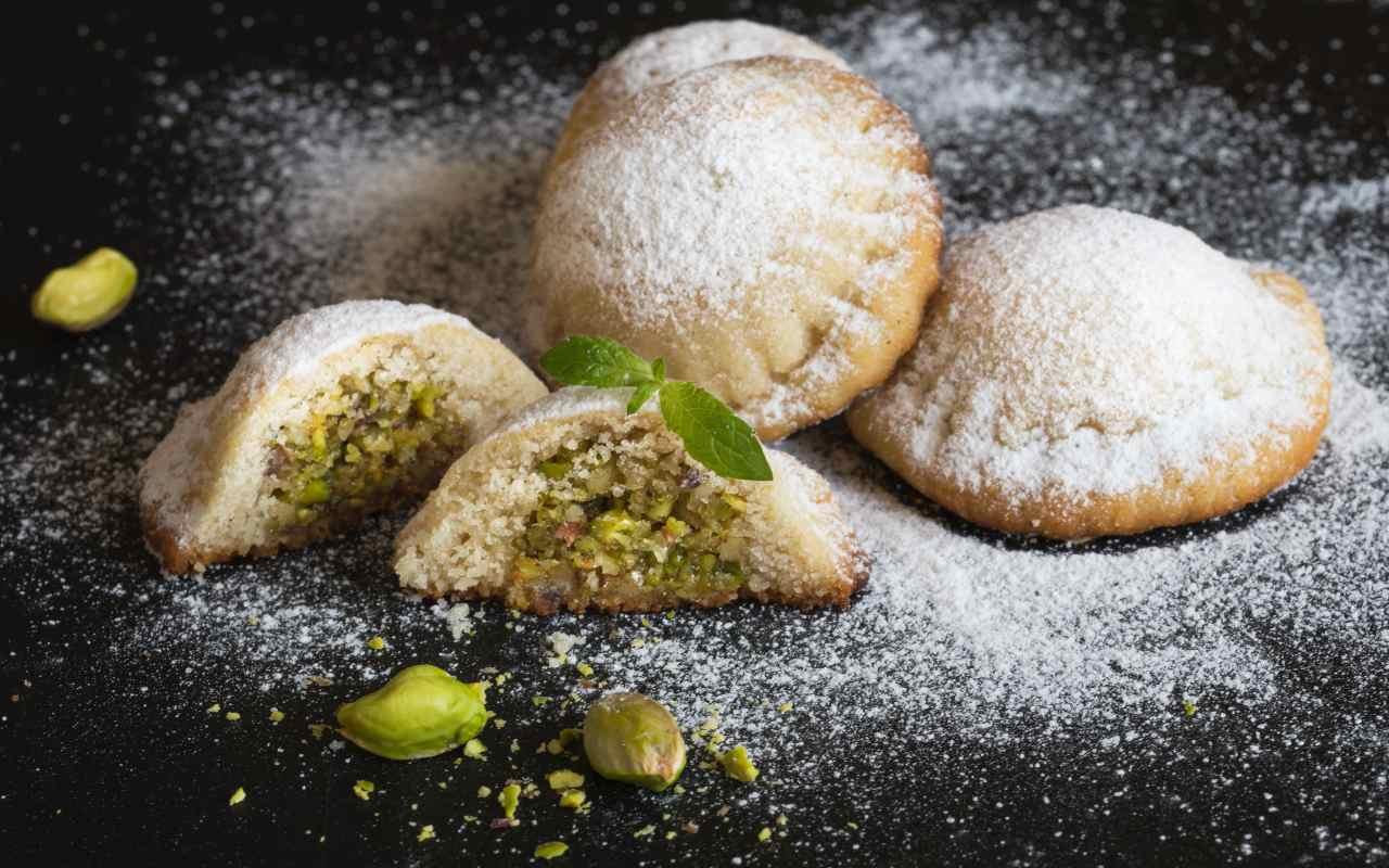 biscotto pistacchio ricetta FOTO ricettasprint