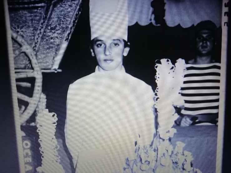 Bruno Barbieri foto inedite giovane mamma ricettasprint