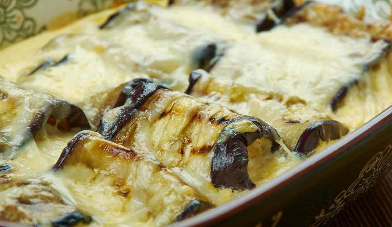 Cannelloni di Melanzane in bianco ricettasprint