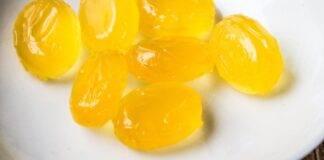 Caramelle miele limone e zenzero ricetta