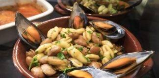 cavatelli cozze fagioli ricetta FOTO ricettasprint