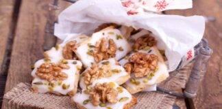 Biscotti con pistacchi