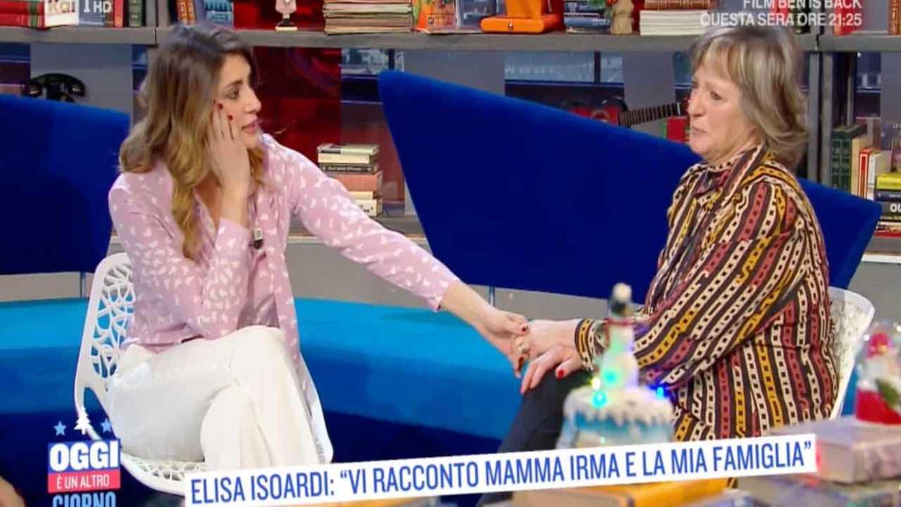Elisa Isoardi e mamma Irma - RicettaSprint