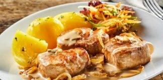Carne di maiale con salsa