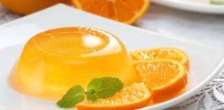 Gelatina di arancia fatta in casa ricetta
