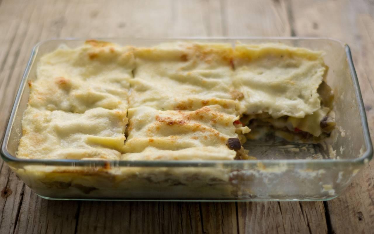 lasagne zucchine no burro ricetta FOTO ricettasprint