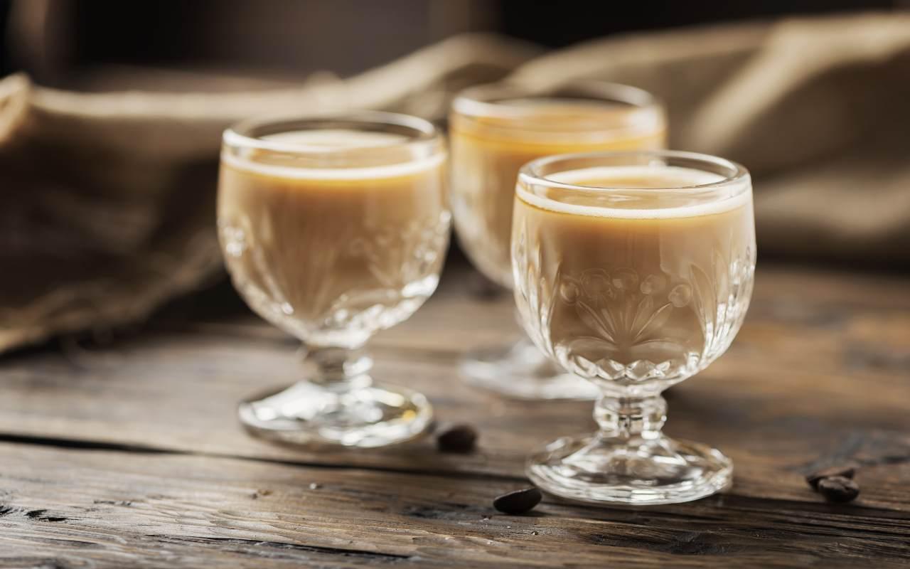 liquore panna caffè ricetta FOTO ricettasprint