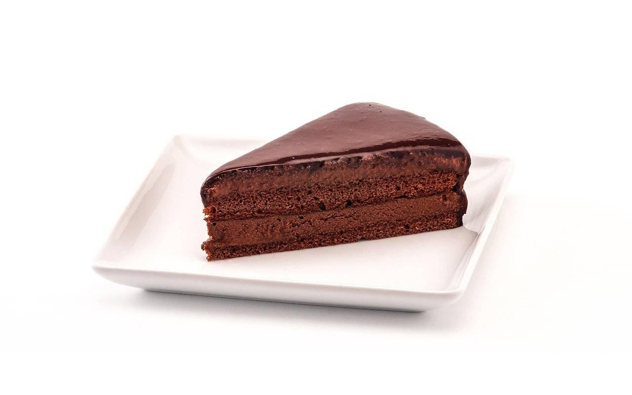 mousse cioccolato torta ricetta FOTO ricettasprint