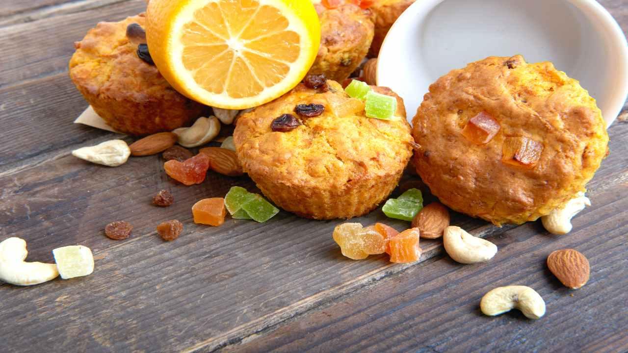 Muffin con frutta