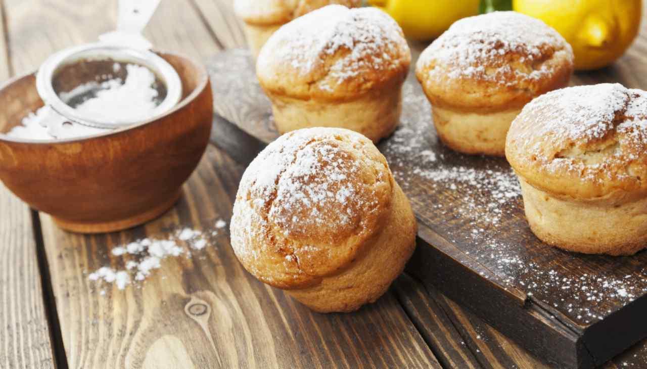 Muffin della nonna con crema ricetta