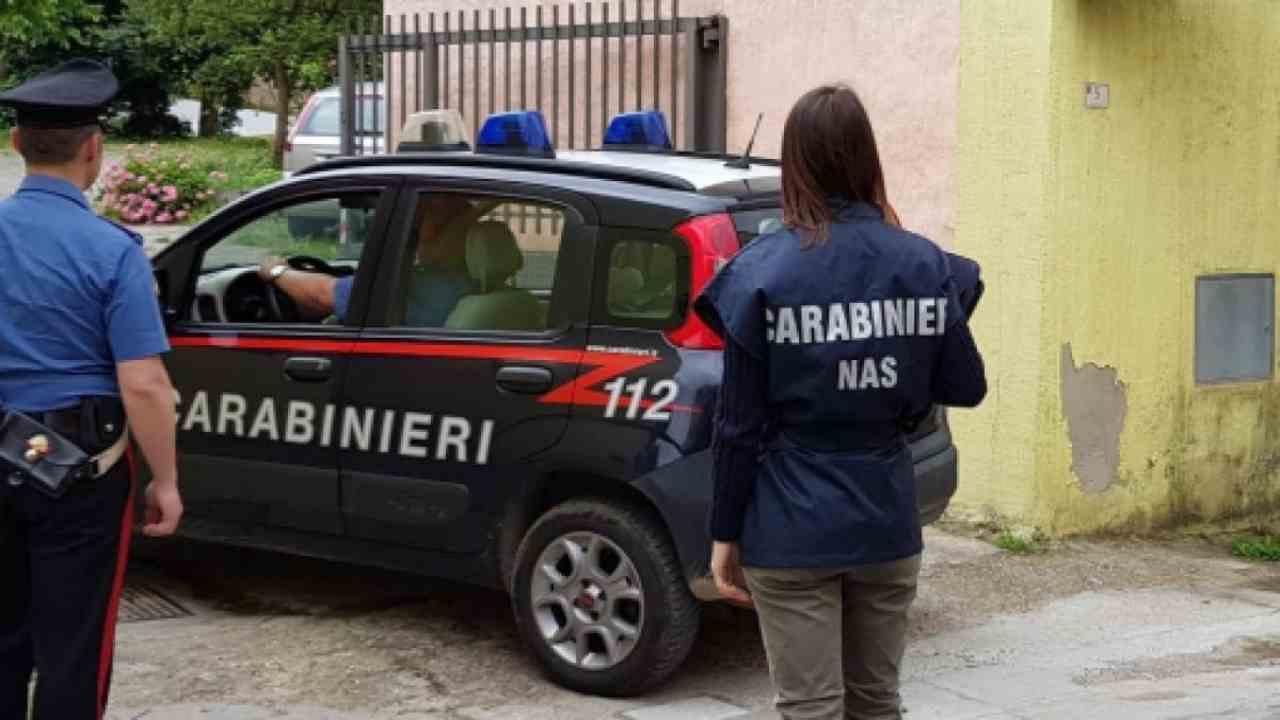 Nas sequestro Cagliari