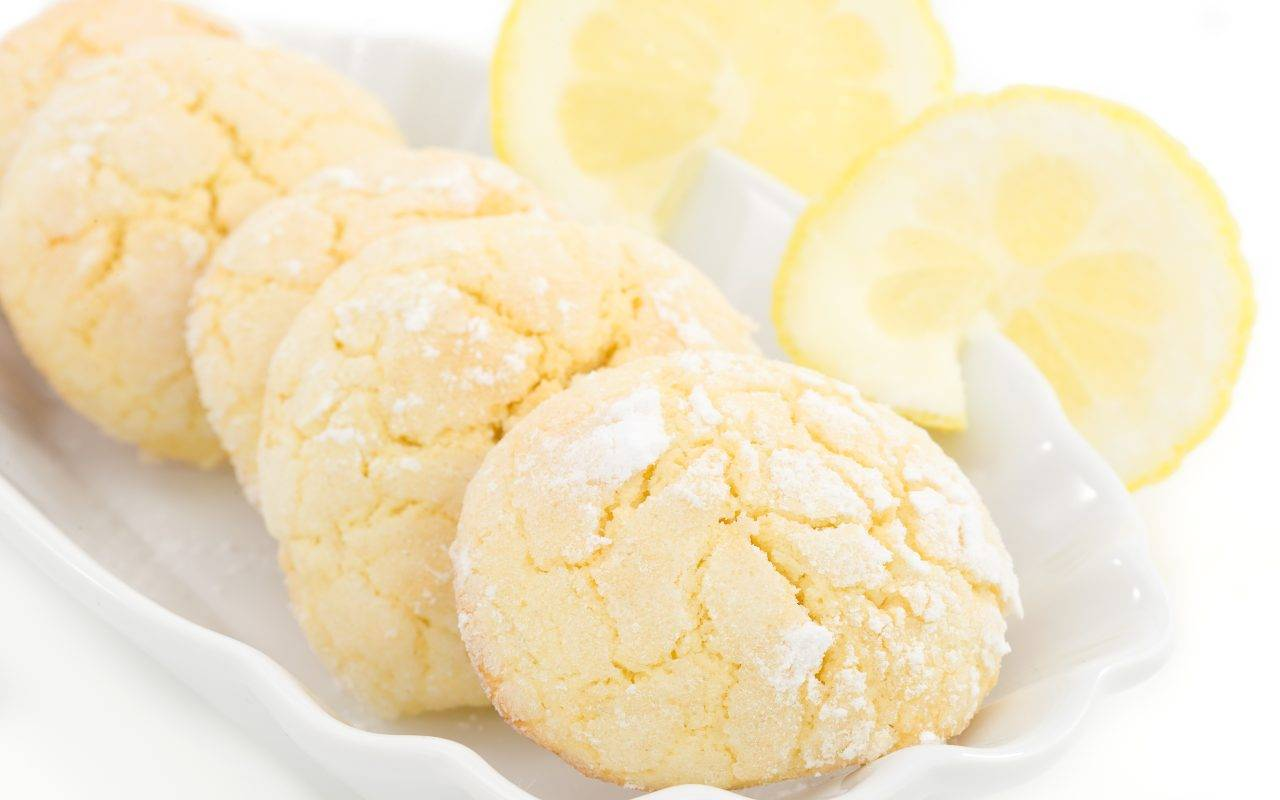 biscotti limone ricetta FOTO ricettasprint
