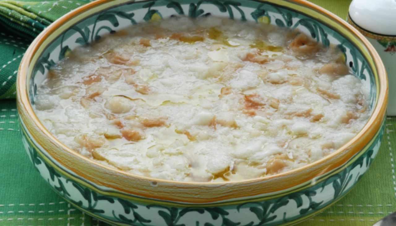 Pancotto con uova ricetta