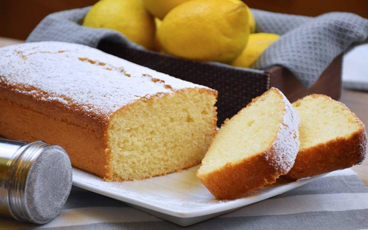 plumcake limone ricotta ricetta FOTO ricettasprint