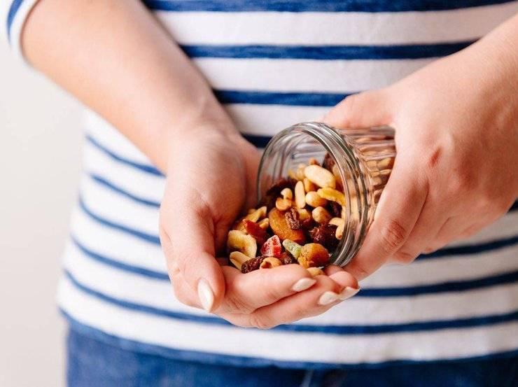 Plumcake mini con frutta secca FOTO ricettasprint