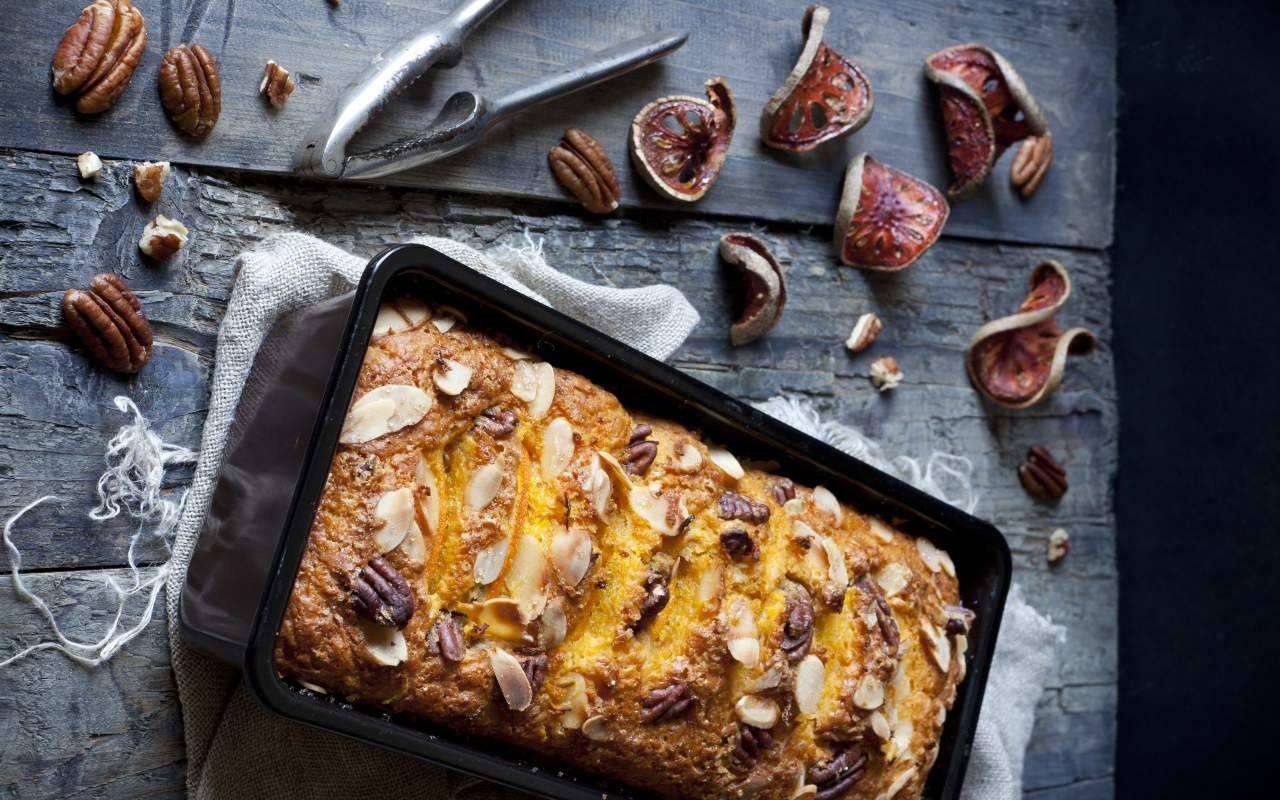 plumcake frutta secca ricetta FOTO ricettasprint
