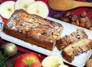 Plumcake soffice mela nocciole uvetta ricettasprint