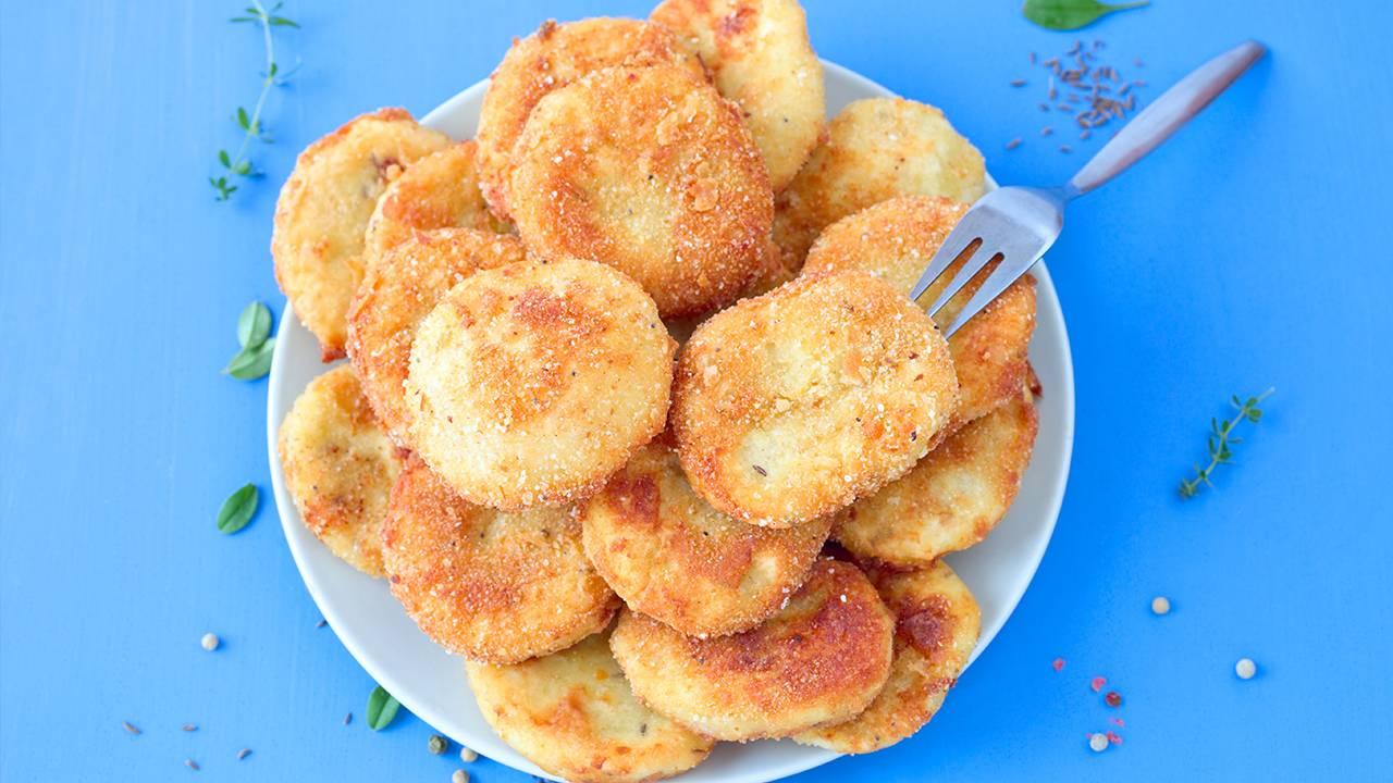 Frittelle al forno di cavolo