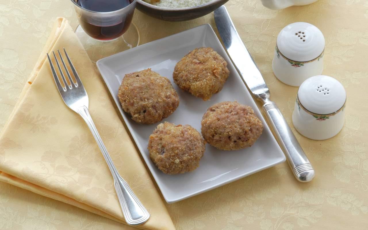 polpette prosciutto parmigiano ricetta FOTO ricettasprint